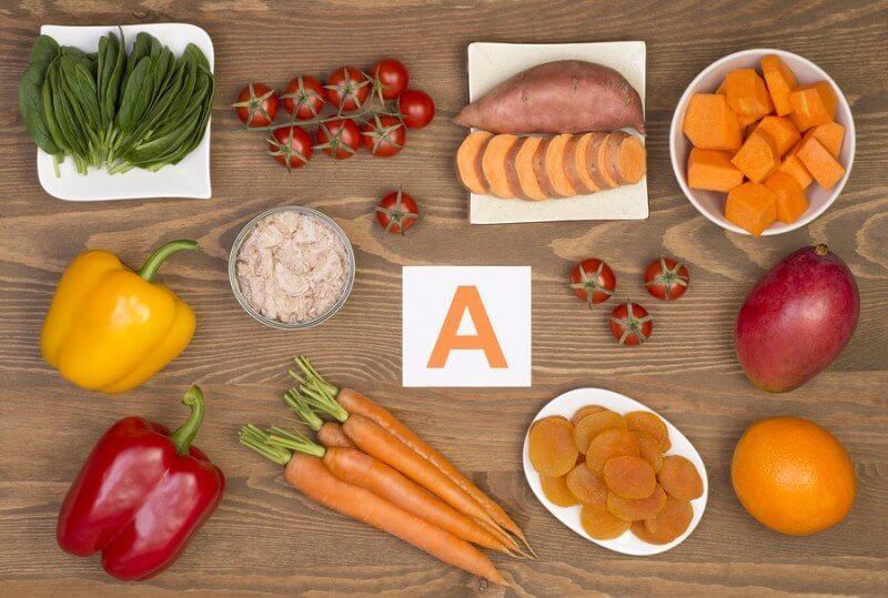 Основная база для витамина А