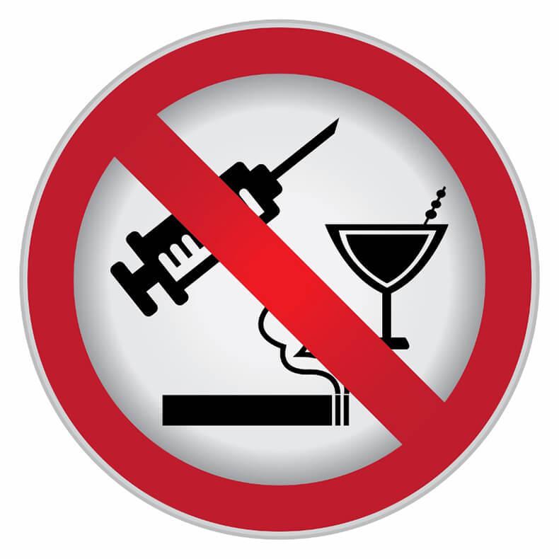 не курить и не пить картинки