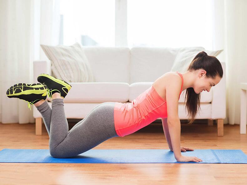 Как ИЗБАВИТЬСЯ от жира в области подмышек: 5 упражнений