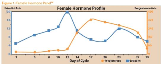 Соотношение эстрогена и прогестерона 7