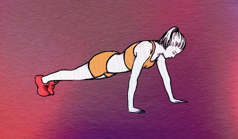 Remove underarm fat: 3 exercises