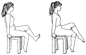 Стретчинг: Упражнения для голеностопных суставов