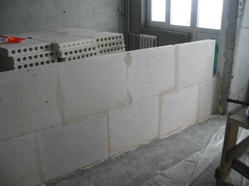 Материалы для монтажа стен и перегородок: сравнение и цены
