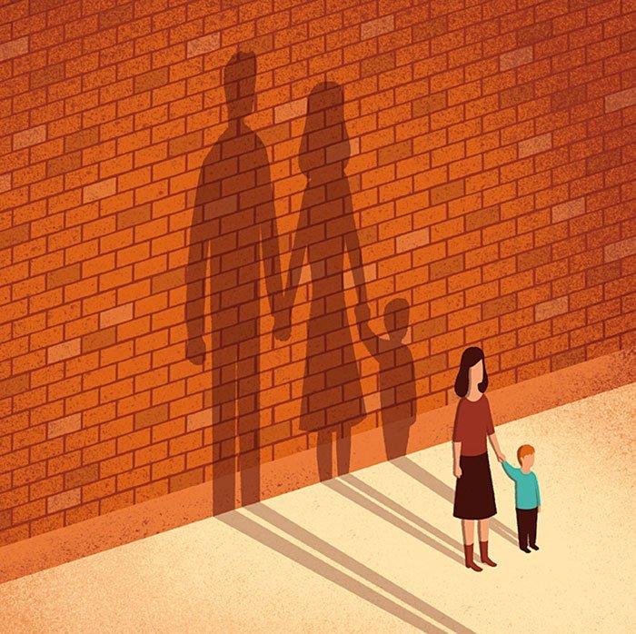 Уйти от ребенка — равносильно уйти без одной ноги и половиной сердца