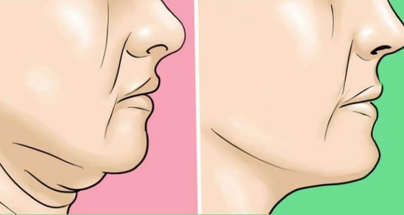 12 упражнений для красивой линии подбородка