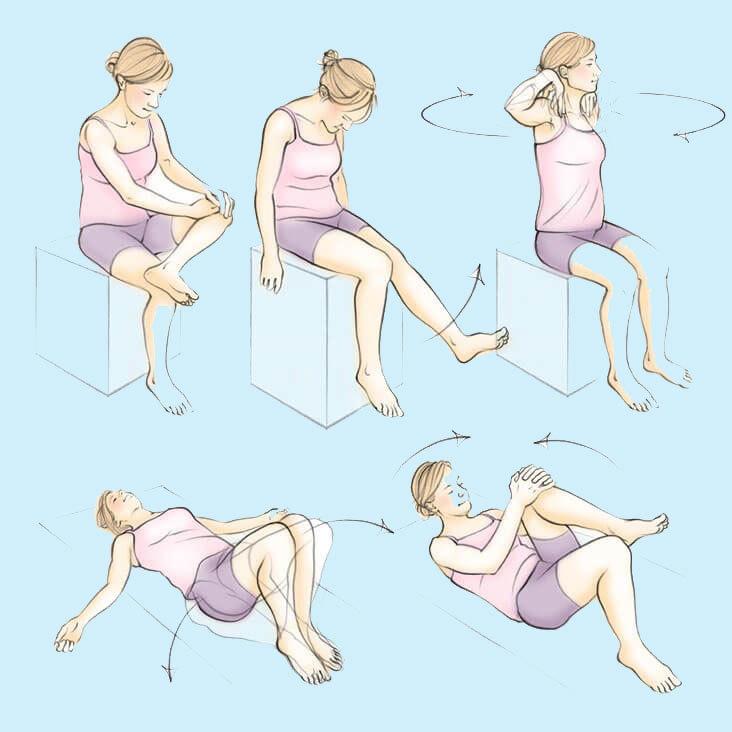 Варикозное расширение вен: Простые упражнения от застоя крови