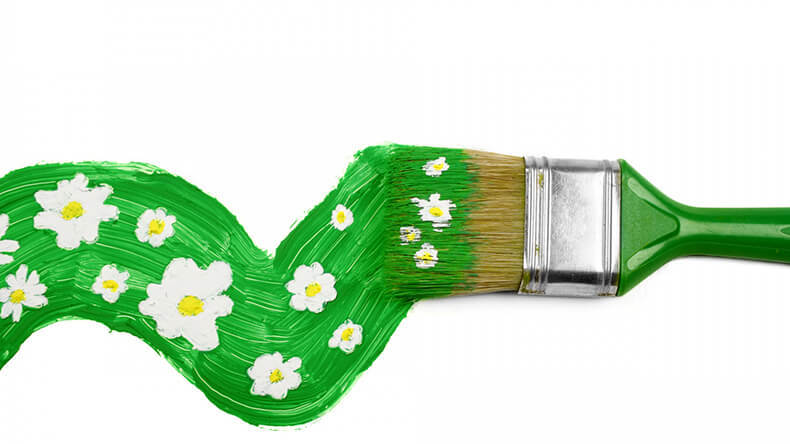 """The exhibition """"Green Brush"""" will be held in """"Charges"""""""