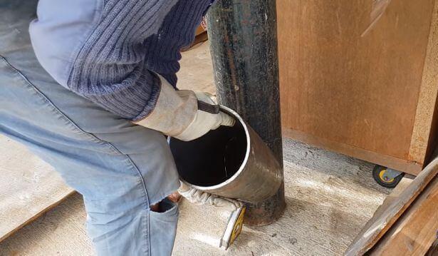 Ракетная печь из кислородного баллона: пошаговая инструкция