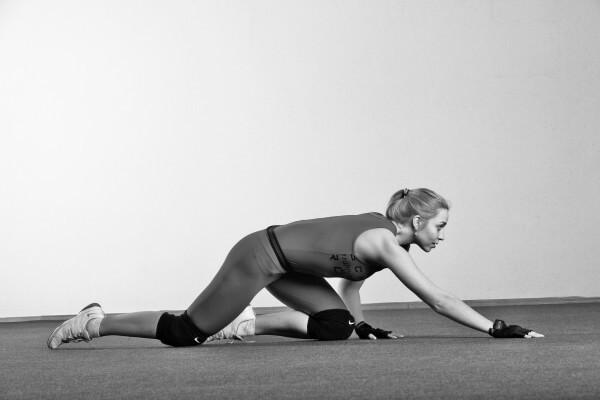 10 упражнений, которые помогут убрать жир с коленей