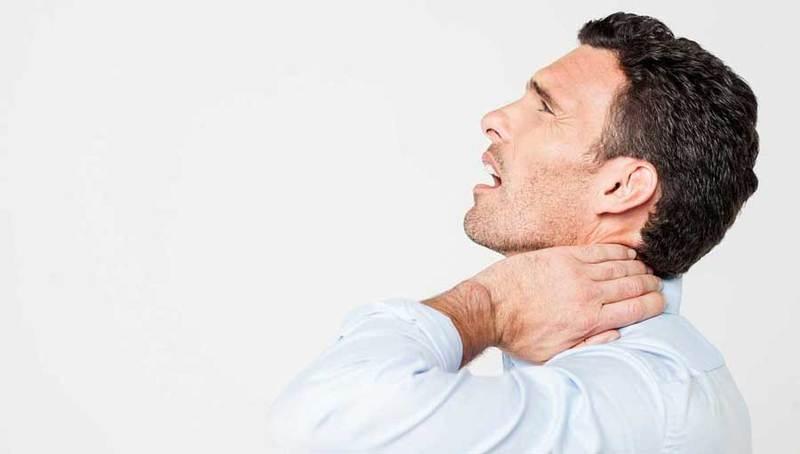 Остеохондроз шейного отдела позвоночника: Ком в горле