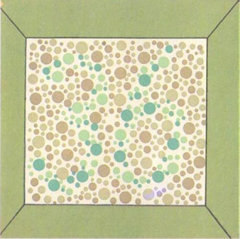 Офтальмолог тест на зрение цветные картинки