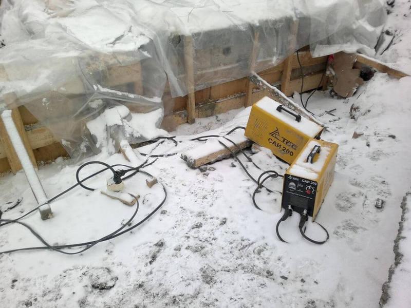 прогрев бетона кабелем трансформатор