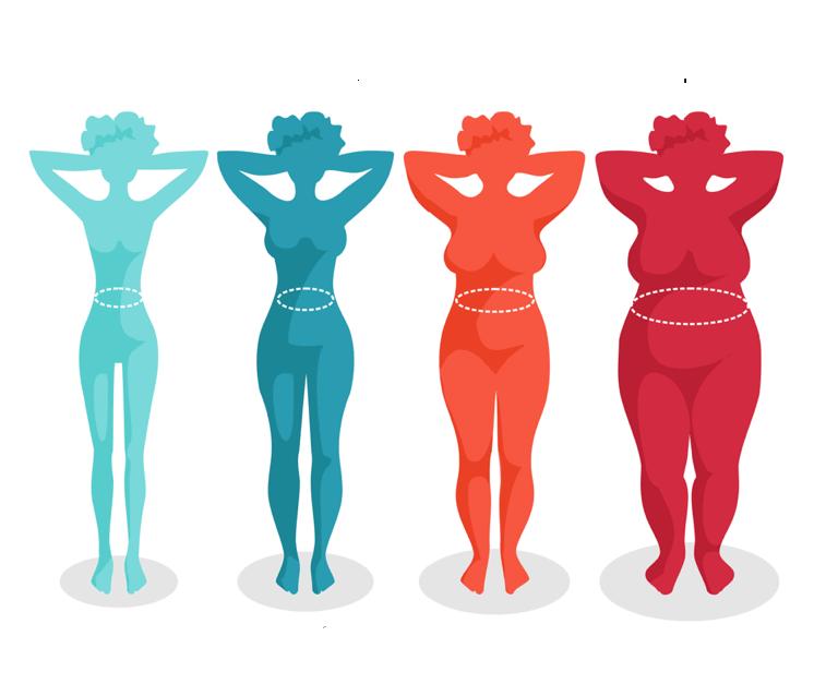 90-60-90: Как с возрастом меняется женская фигура
