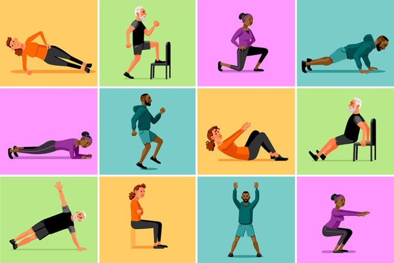 Похудеть упражнения дома видео