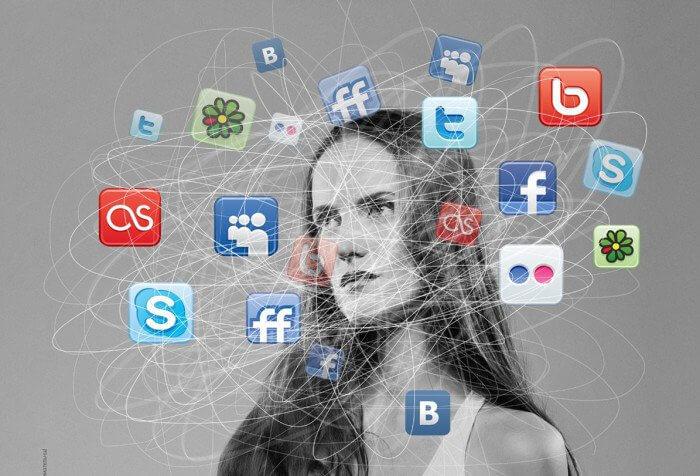 «Идеальная» жизнь в социальных сетях
