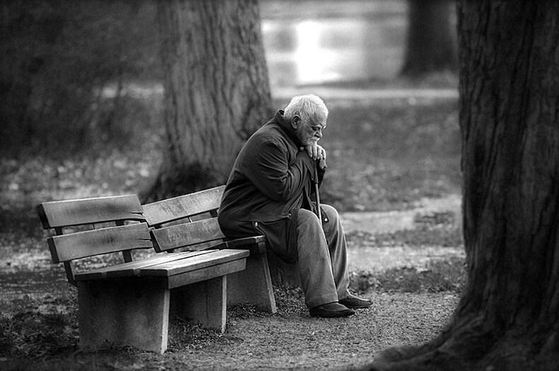 Накопление горя в старости