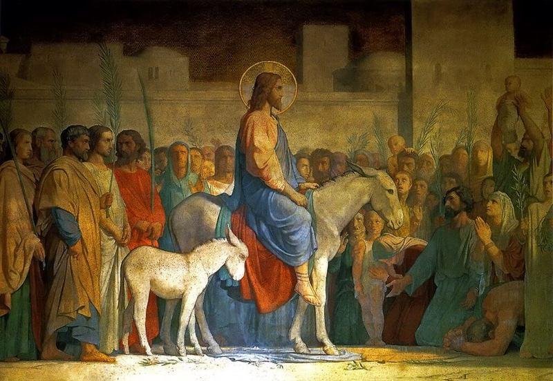 Вербное воскресенье. День радостных ладошек