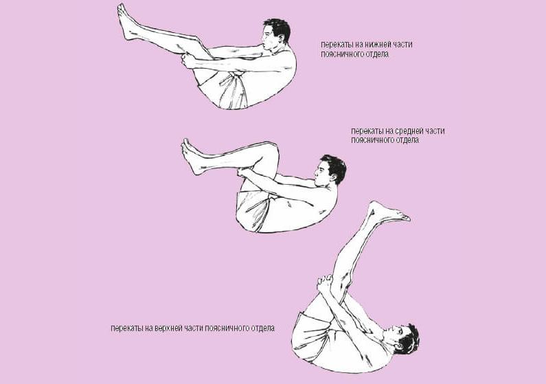 Упражнение перекаты на спине польза и вред thumbnail
