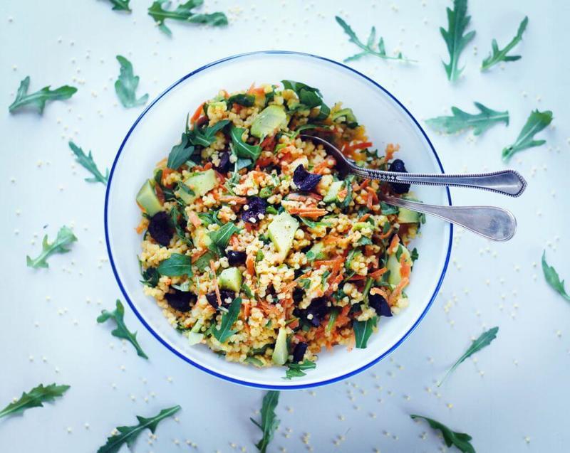 2 рецепта полезных салатов: Табуле и Салат из 7 круп
