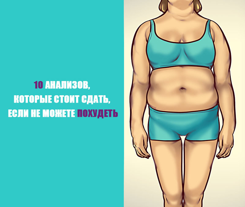 10 анализов, которые стоит сдать, если не можете похудеть