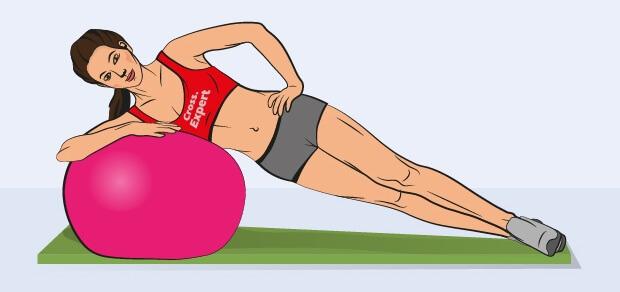 Боковая планка: Супер упражнение для людей, ведущих сидячий образ жизни!