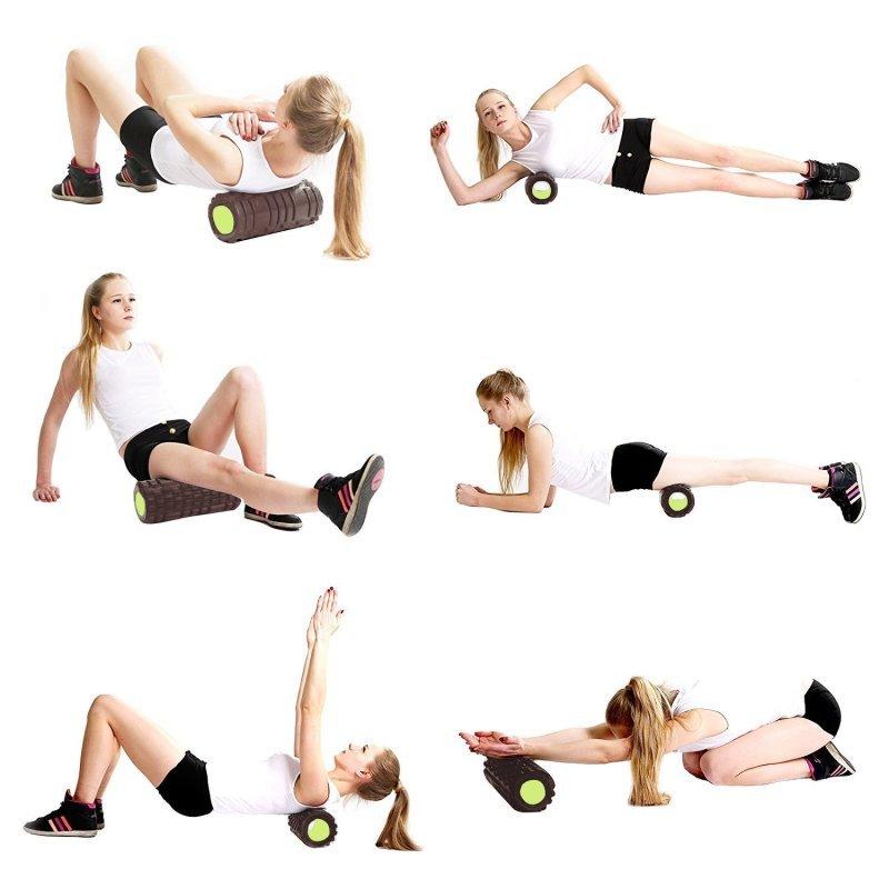 массажер валик упражнения