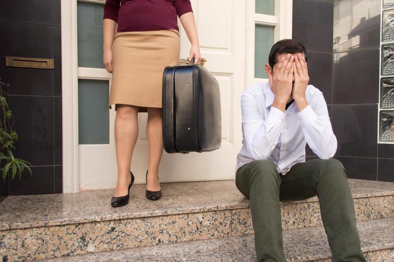 Что делать мужу, если жена подала на развод