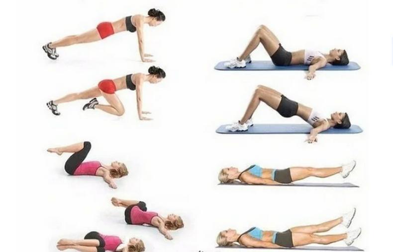 Упражнение похудеть для живота