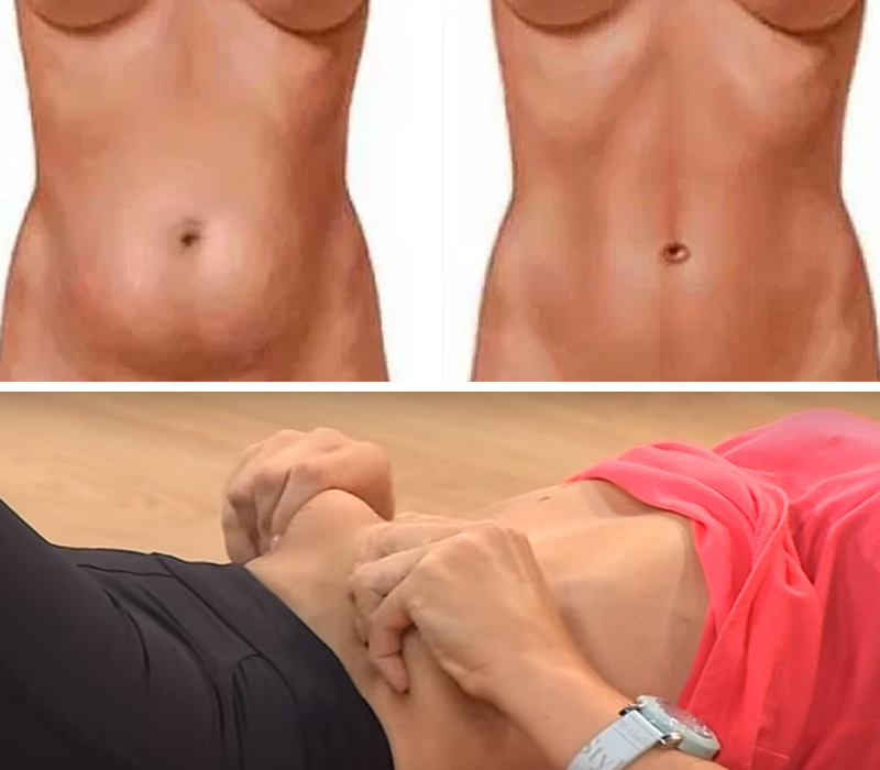 Минус 5 сантиметров в талии: остеопатическая техника от обвисшего живота