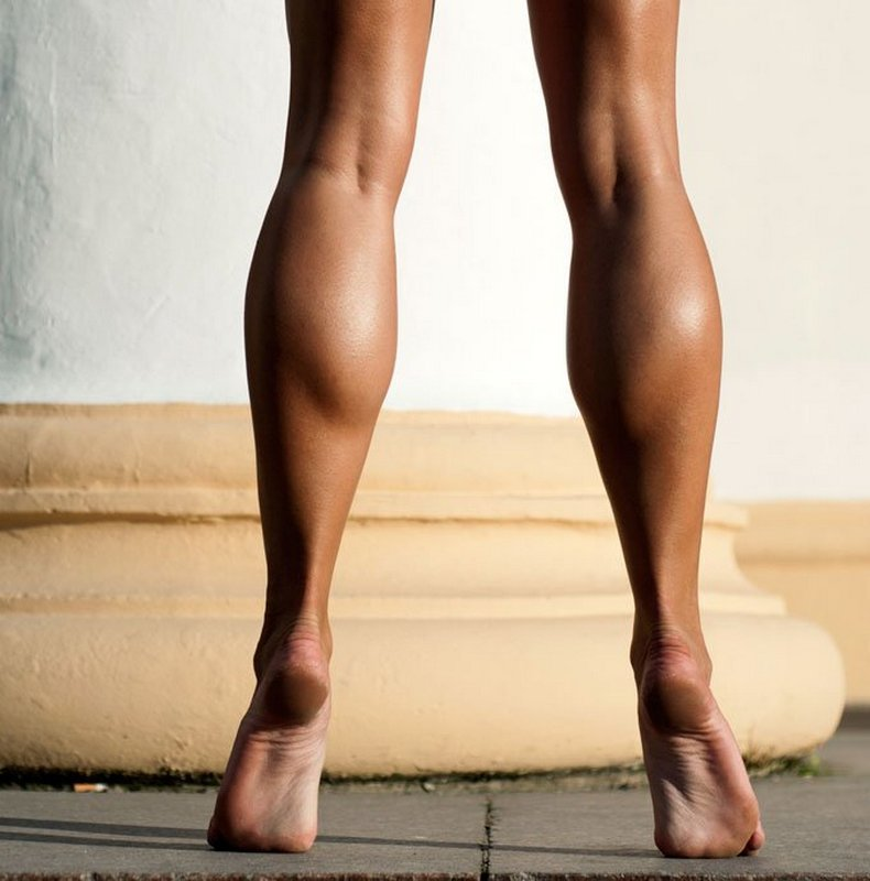 Точеные ножки: как уменьшить икры