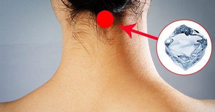 12 изменений, которые подарит организму кубик льда на шее