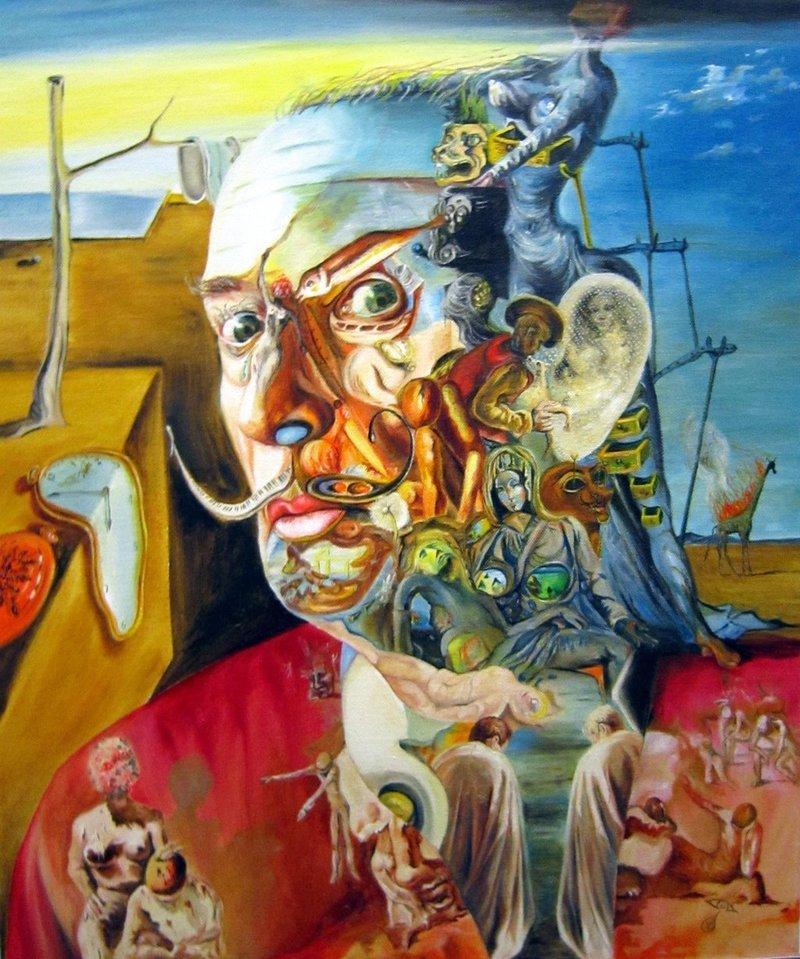 Картины Сальвадора Дали: сны или реальность? Взгляд соматиполога