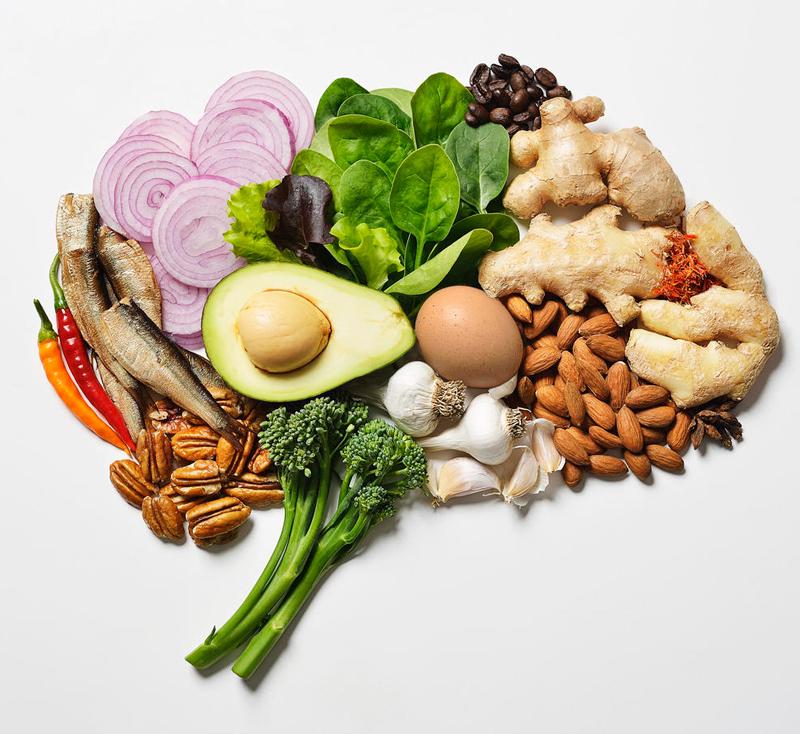 Здоровый мозг: 6 необходимых витаминов и минералов