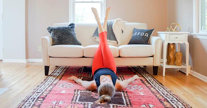 6 «ленивых» упражнений для похудения