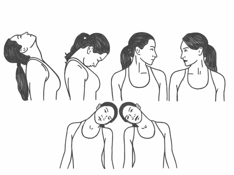 Как укрепить мышцы шеи: всего 2 упражнения