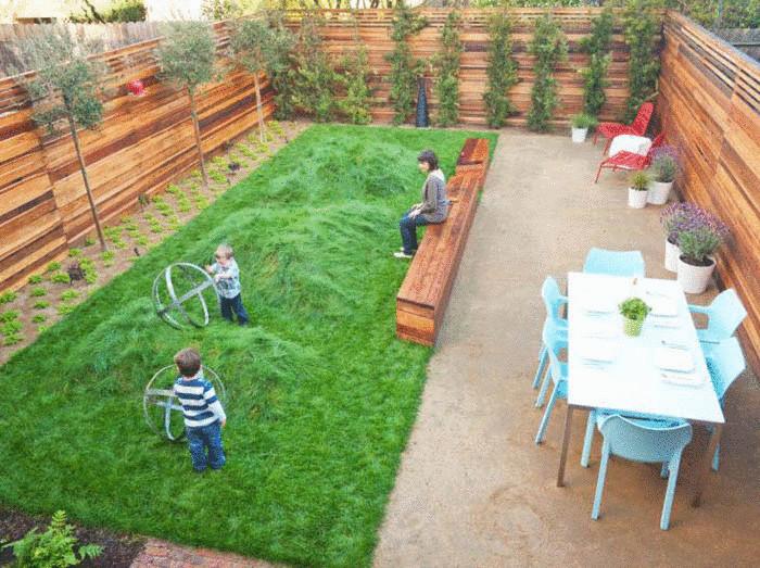 Как сделать закрытый двор своими руками