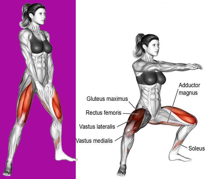 Приседания: 9 видов самого полезного упражнения