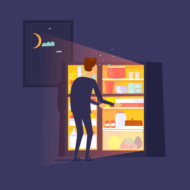 Что дает отказ от пищи перед сном?