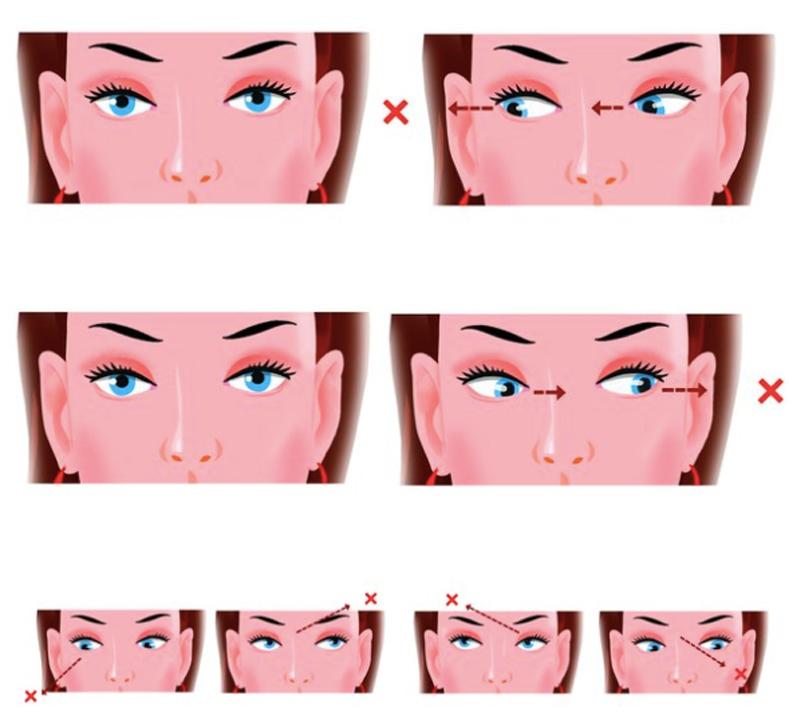 7 упражнений для улучшения зрения и состояния кожи век