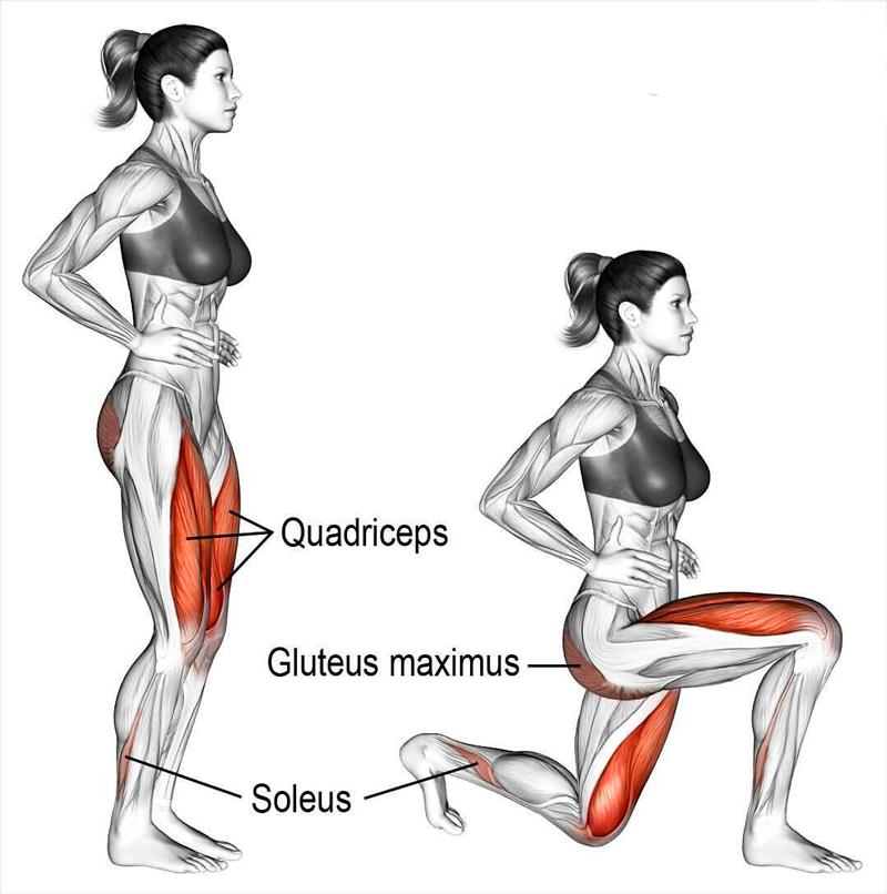 Ключевое упражнение для ног: все, что вам нужно знать про выпады