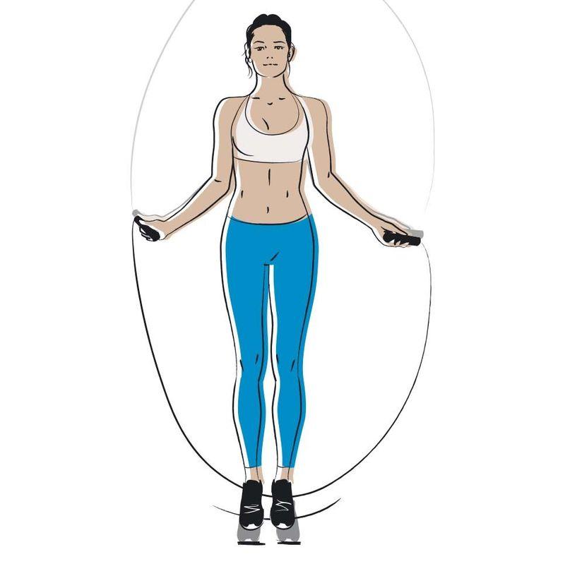 Прыжки на скакалке - кардиотренировка, похудение и прокачка лимфы