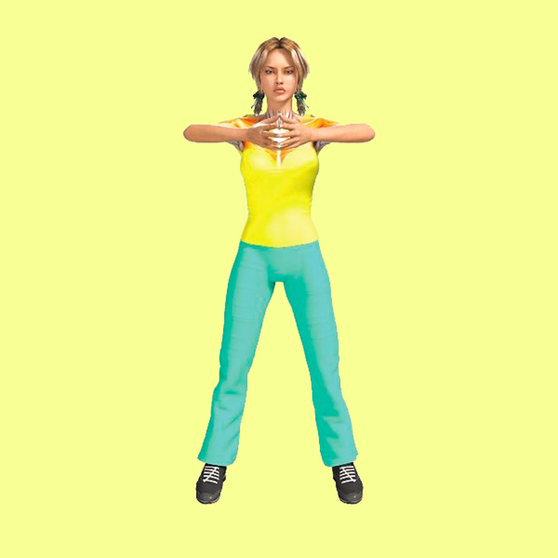 Изотоническое упражнение для похудения рук