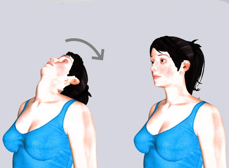 Золотая десятка: лучшие упражнения для шеи