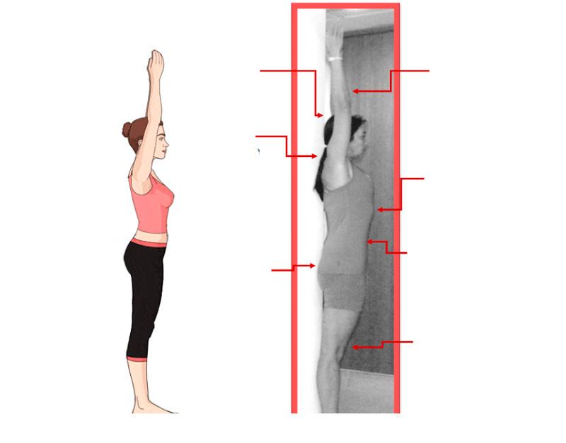 10 эффективных упражнений для исправление осанки