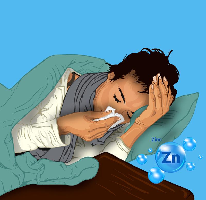 Цинк: как принимать при первых признаках простуды