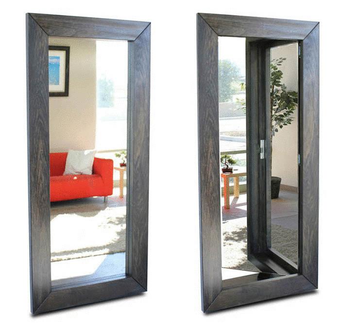 Как сделать двери зеркальными 603