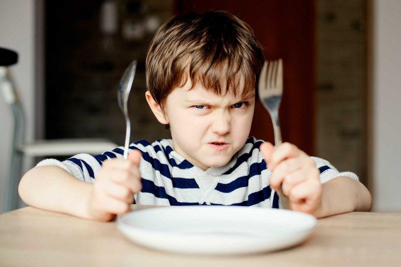 Дети, которые ели не то и не так