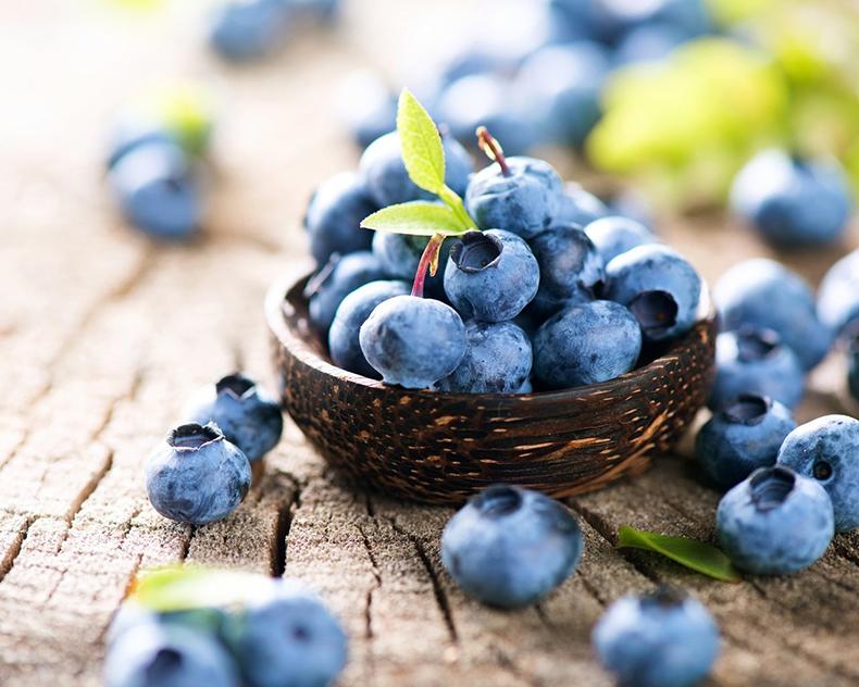 Синие и фиолетовые фрукты и овощи для здоровья мозга