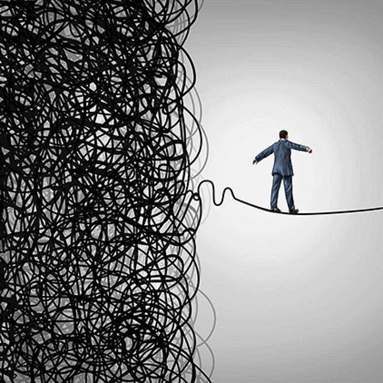 Упражнение «Хаос» на возвращение контроля над своей жизнью