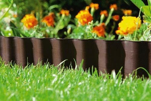 Бордюры садовые металлические